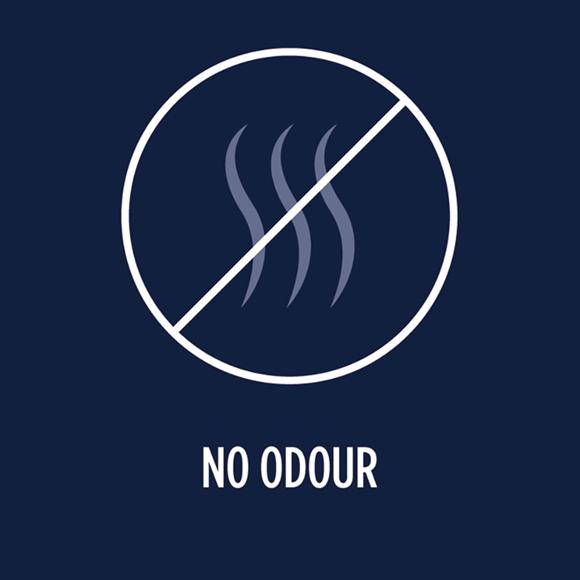 No odour