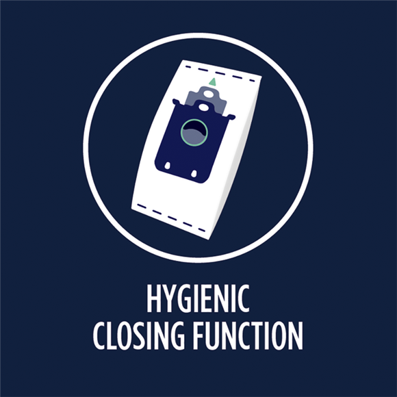 Hygienic closing function