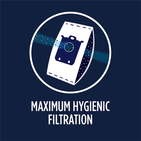 Maximum hygienic filtration