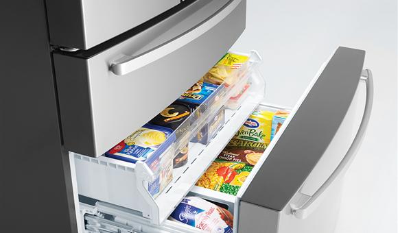 Dual Freezer Storage