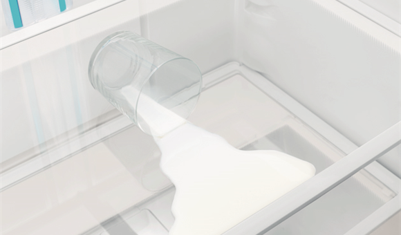 SpillSafe Glass Shelves