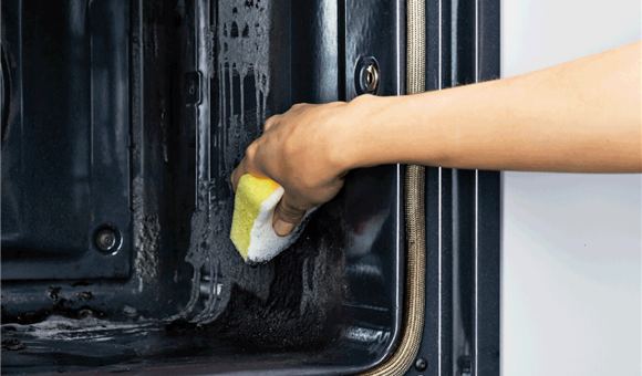 An oven that cleans itself. Easy.