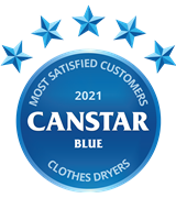 Canstar Blue's Most Satisfied Customers - Dryers 2021