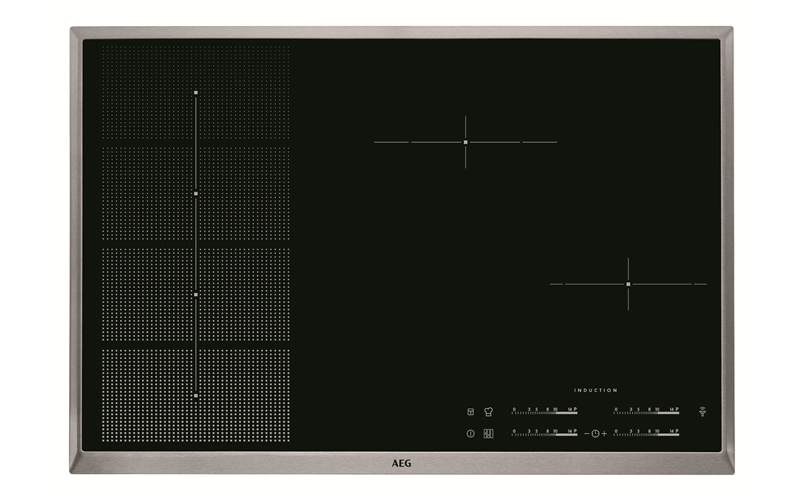 AEG 80cm 4 Zone H2H Induction Cooktop HKP85410XB