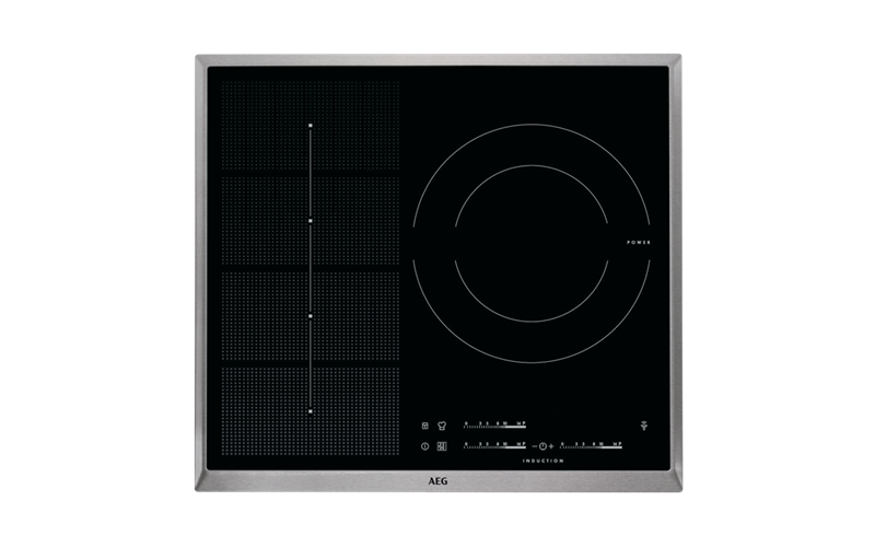 AEG 60cm 3 Zone H2H Induction Cooktop HKP65310XB