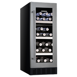 Vintec V20 Beer And Wine Cabinet Stainless Steel