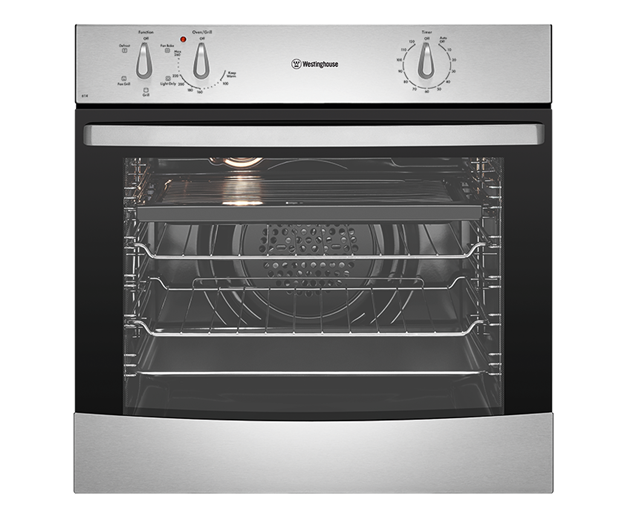 60cm 4 Function Stainless Steel Oven (WVE614SA) - Westinghouse Australia