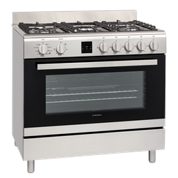 90cm Freestanding 5 Burner cooker