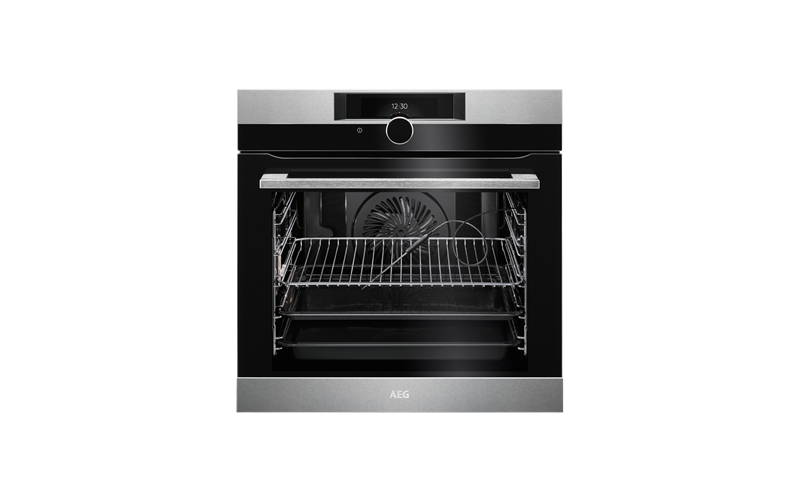 AEG 60cm SenseCook multi-function 16 Pyroluxe™oven, stainless steel BPK842320M