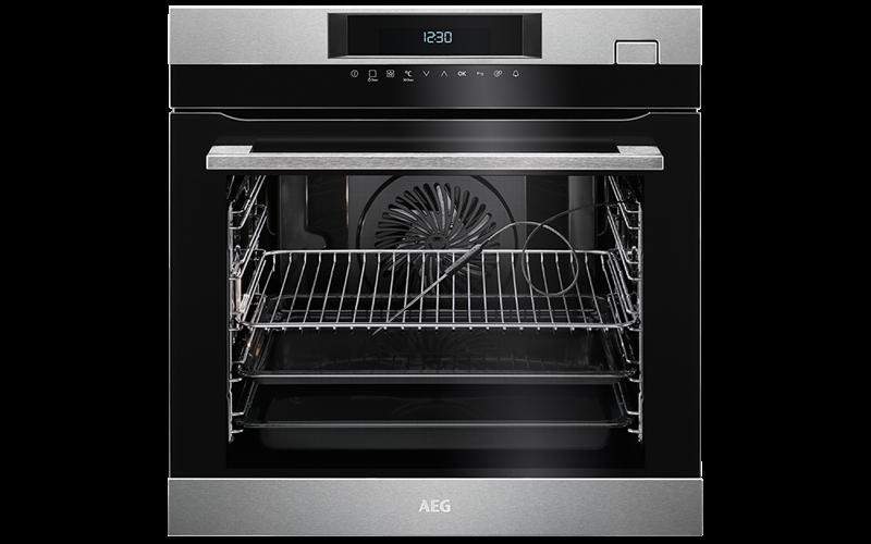 AEG 60cm SteamCrisp Oven BSK774320M