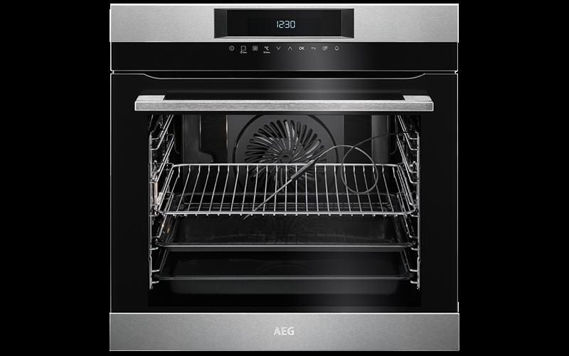 AEG 60cm SenseCook PyroLuxe™ Oven BPK742320M
