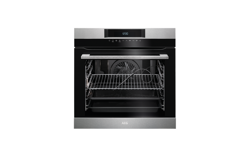 AEG 60cm SenseCook multi-function 16 Pyroluxe™oven, stainless steel BPK742320M