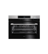60cm SteamPro multi-function 25 compact oven, stainless steel: KSK792220M