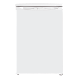 White 124L bar fridge
