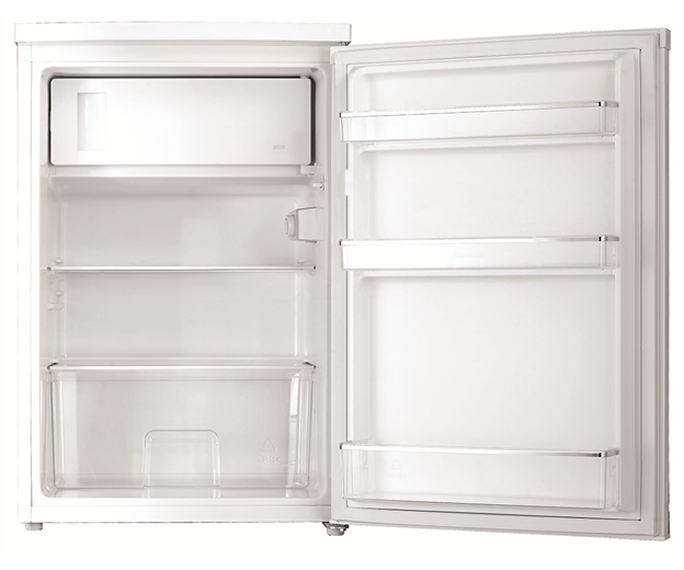 WIM1200WD_Bar Fridge_White_Hero_Door Open.jpg