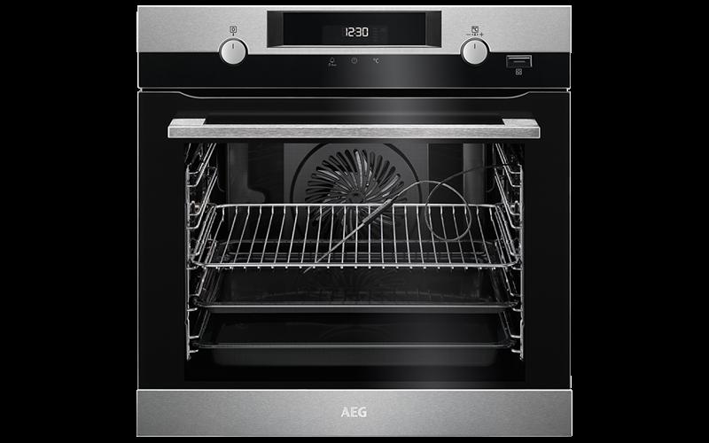 AEG 60cm SteamBake Oven BEK556320M