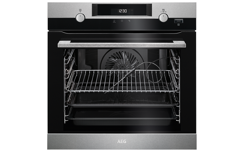 AEG 60cm SteamBake Pyroluxe™ Oven BPK556320M