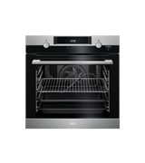 60cm SteamBake multi-function 10 Pyroluxe™oven, stainless steel: BPK556320M