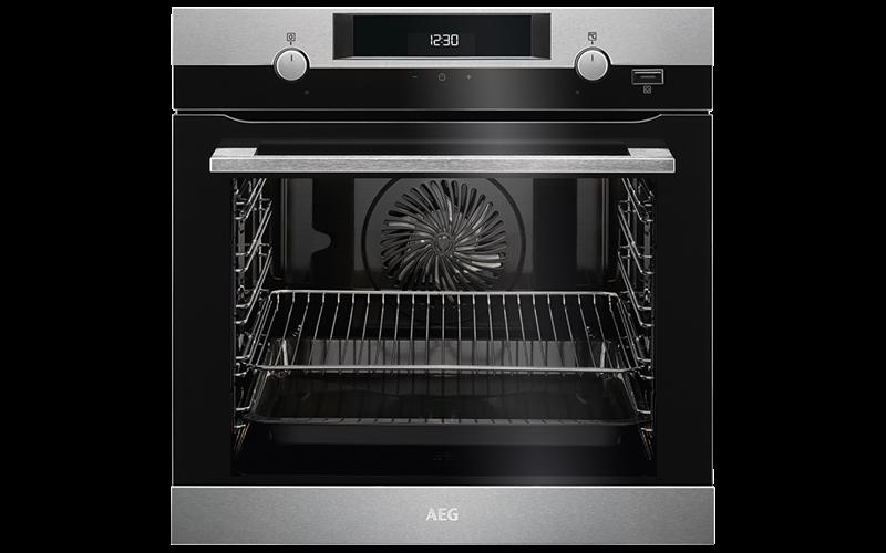 AEG 60cm SteamBake Oven BEK455310M