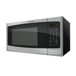 23L stainless steel countertop microwave oven