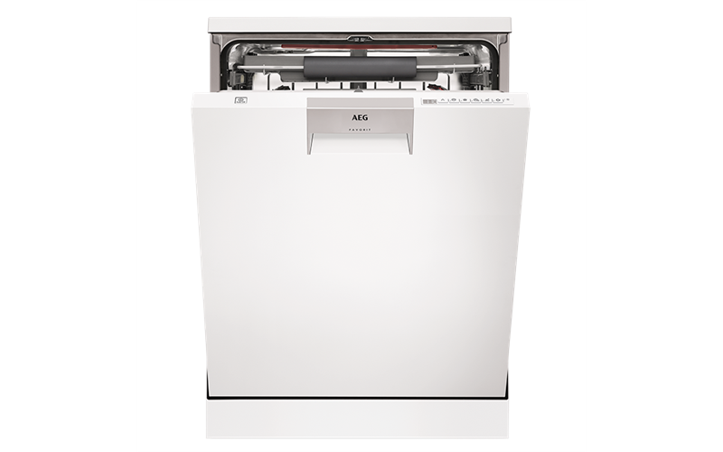 AEG White freestanding dishwasher FFB72746PW