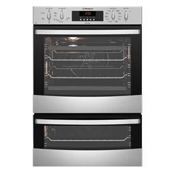 Stainless steel duo pyrolytic oven