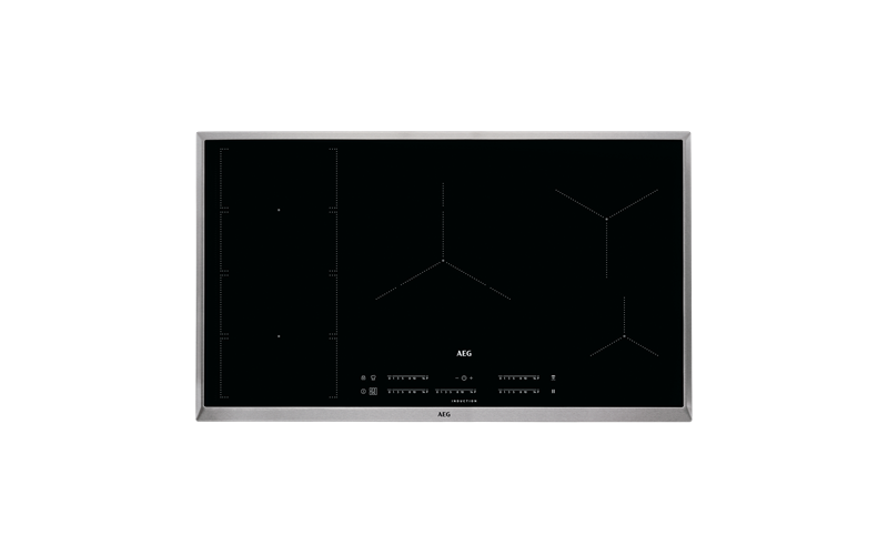 AEG 90cm 5 zone induction cooktop IKE95471XB