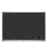 80cm SensePro 4 zone induction cooktop: IAE84881XB