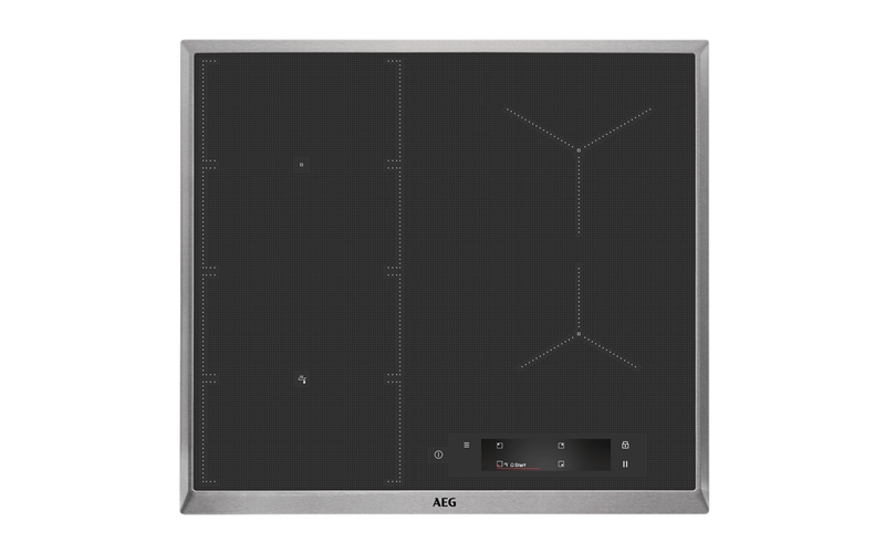AEG 60cm 4 zone induction cooktop IAE64851XB