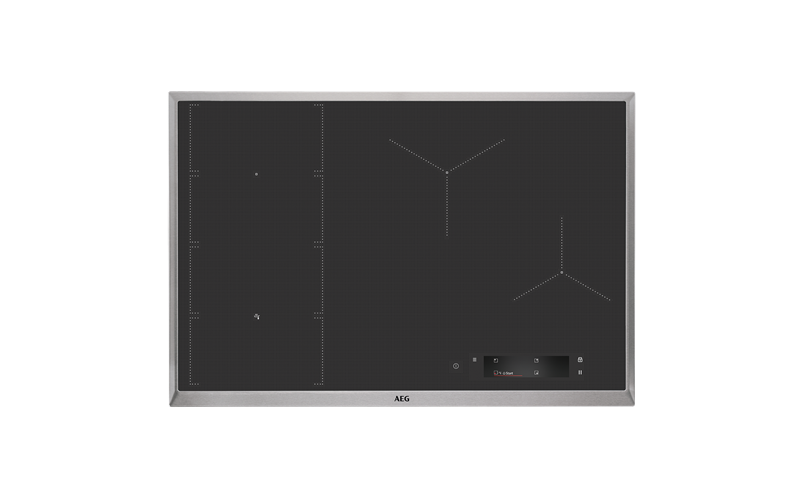 AEG 80cm 4 zone induction cooktop IAE84851XB