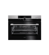 60cm SteamBoost multi-function 22 compact oven, stainless steel: KSK882220M