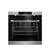 60cm SteamBake multi-function 10 Pyroluxe™oven, stainless steel: BPK552220M