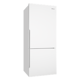 453L White bottom mount fridge