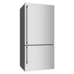 528L Stainless steel bottom mount fridge