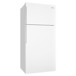536L White top mount fridge