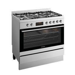 90cm dual fuel freestanding cooker
