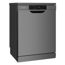 Freestanding dishwasher, dark stainless
