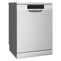 Freestanding dishwasher, stainless steel