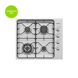 60cm 4 burner stainless steel gas cooktop