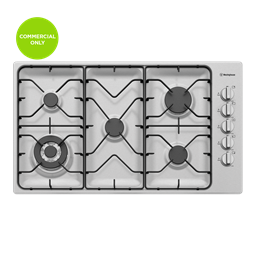 90cm 5 burner stainless steel gas cooktop