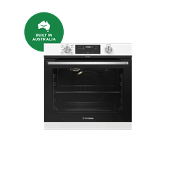 60cm multi-function 10 pyrolytic oven, white