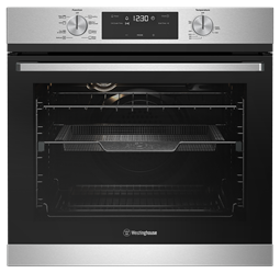60cm multi-function 8 oven with AirFry, stainless steel