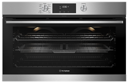 90cm multi-function 10 pyrolytic oven with AirFry, stainless steel