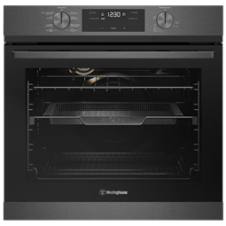 60cm multi-function 8 oven with AirFry, dark stainless steel