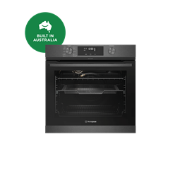 60cm multi-function 10 pyrolytic oven with AirFry, dark stainless steel