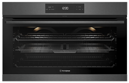 90cm pyrolytic multi-function 14 oven with AirFry, dark stainless steel