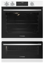 60cm multi-function 5 oven with separate grill, white