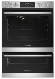 60cm multi-function 8/5 duo oven, stainless steel