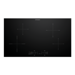 90cm 4 zone induction cooktop