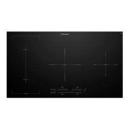 90cm 4 zone induction cooktop with BoilProtect